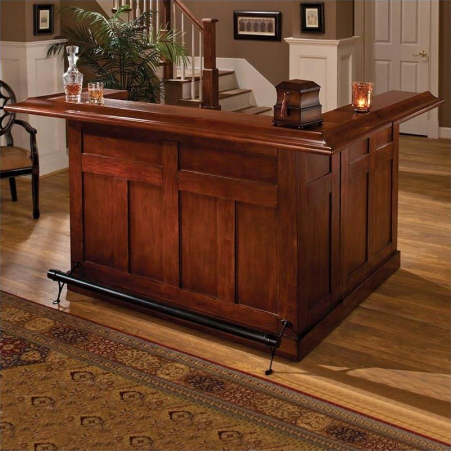Clockway: Hillsdale Classic Cherry Large Bar with Side Bar - THD3330 ...