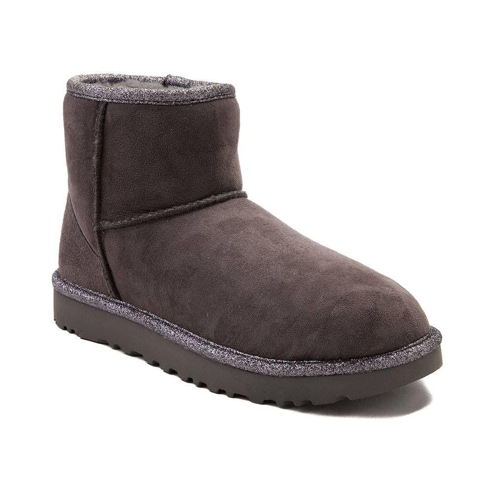 8f3756c53be Womens UGG® Classic Mini Metallic Boot - Gray - 581729 | Shoes ...