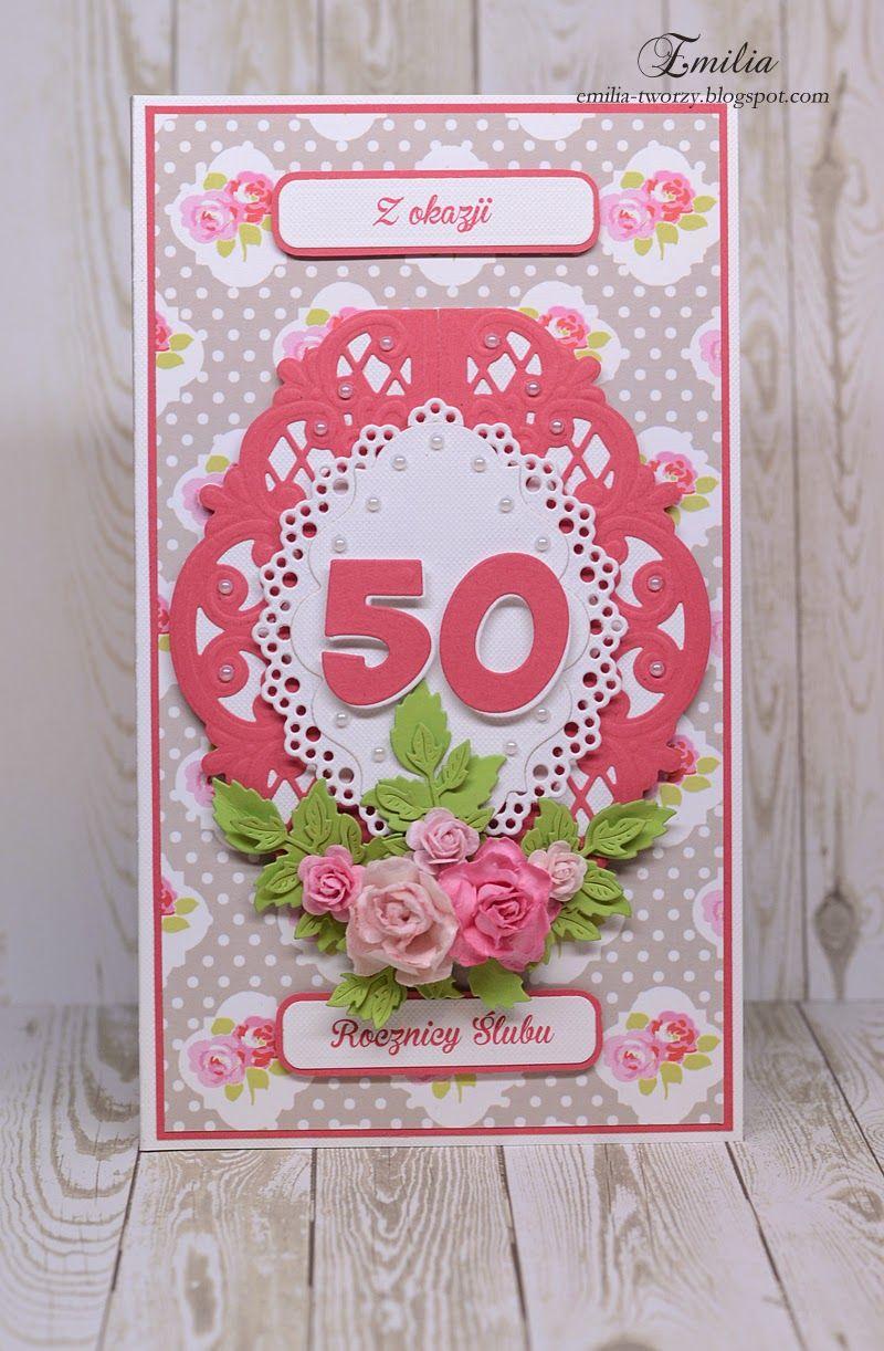 Zlote Gody Inspirational Cards Cards Inspiration