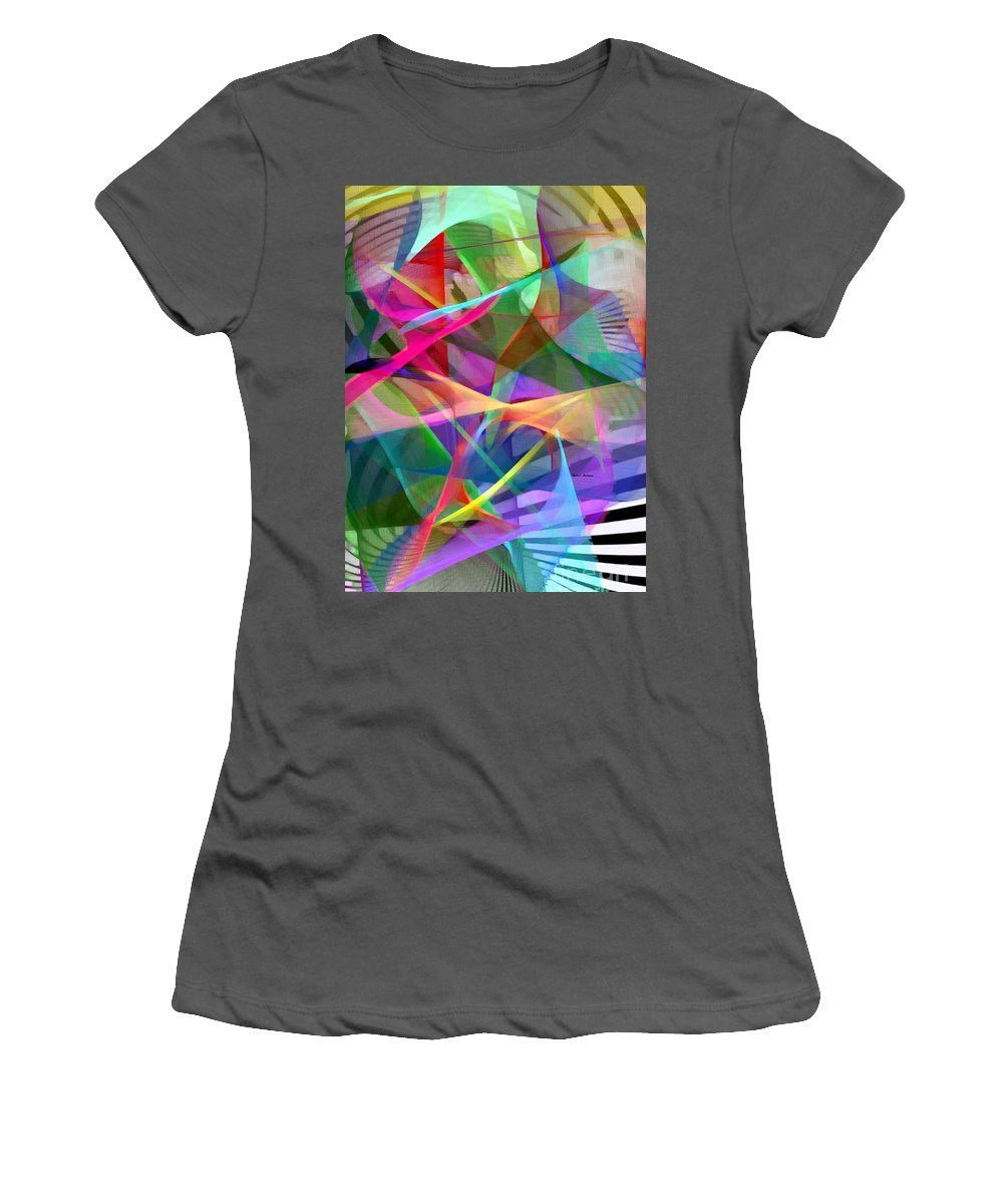 Women's T-Shirt (Junior Cut) - Abstract 9488