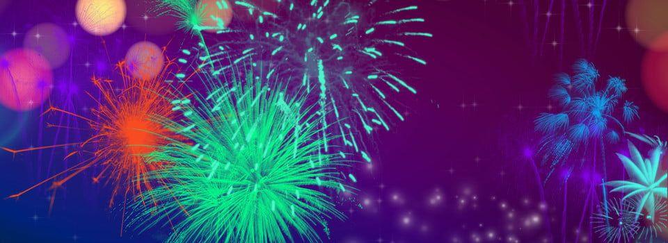 خيال النيون ألعاب نارية الخلفية الملصق تركيب ألعاب نارية نيون بسيط حلم جميل عمل بنفسجي مهرجان مهرجان Fireworks Neon Simple