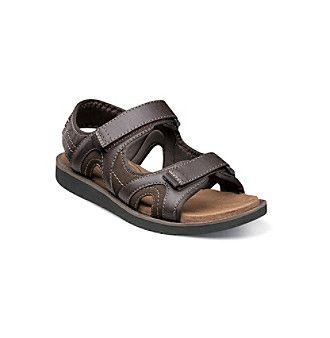 """Nunn Bush® Men's """"Bluffside"""" Two-Strap Sandals"""