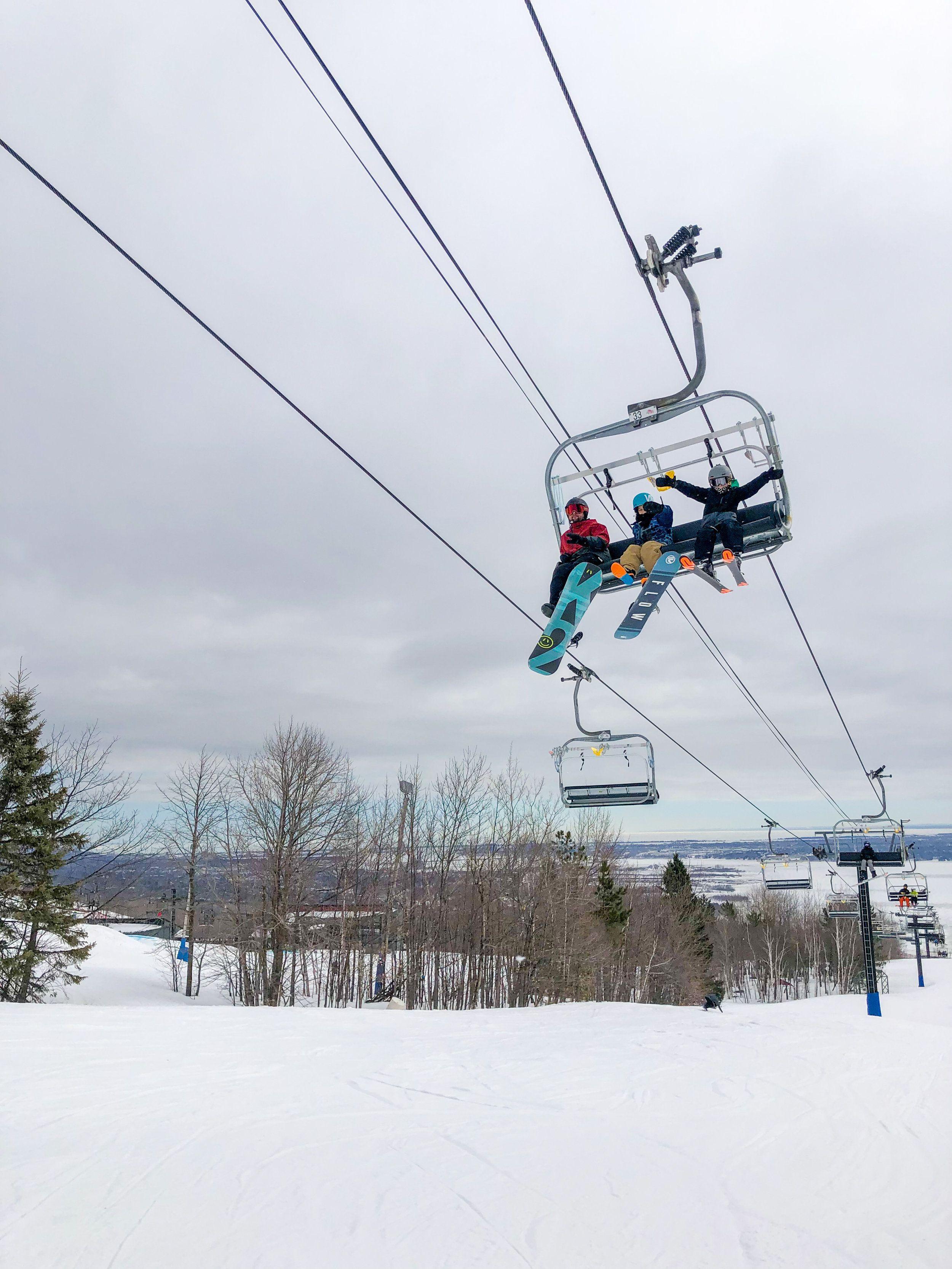 Skiing In Minnesota Spirit Mountain Hammockliving Minnesota Travel Skiing Minnesota