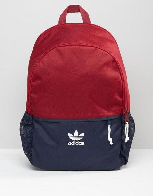 bf8764449ce adidas Originals Backpack In Red AY7738   I Want!   Pinterest ...