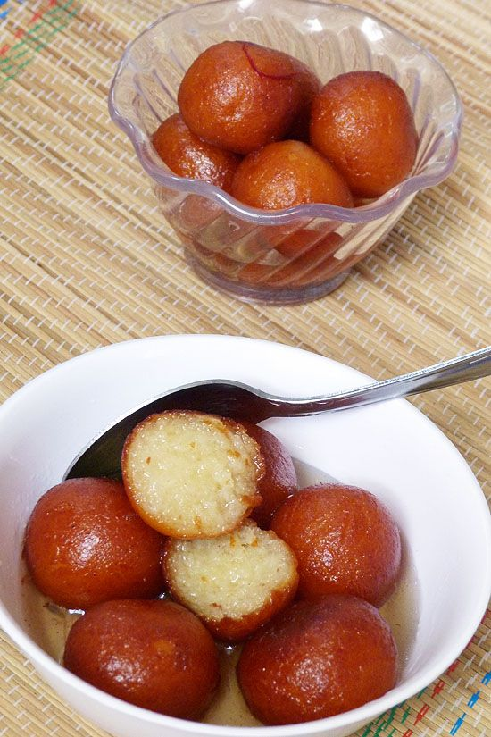 Gulab Jamun With Khoya Spice Up The Curry Recipe Jamun Recipe Gulab Jamun Recipe Indian Dessert Recipes