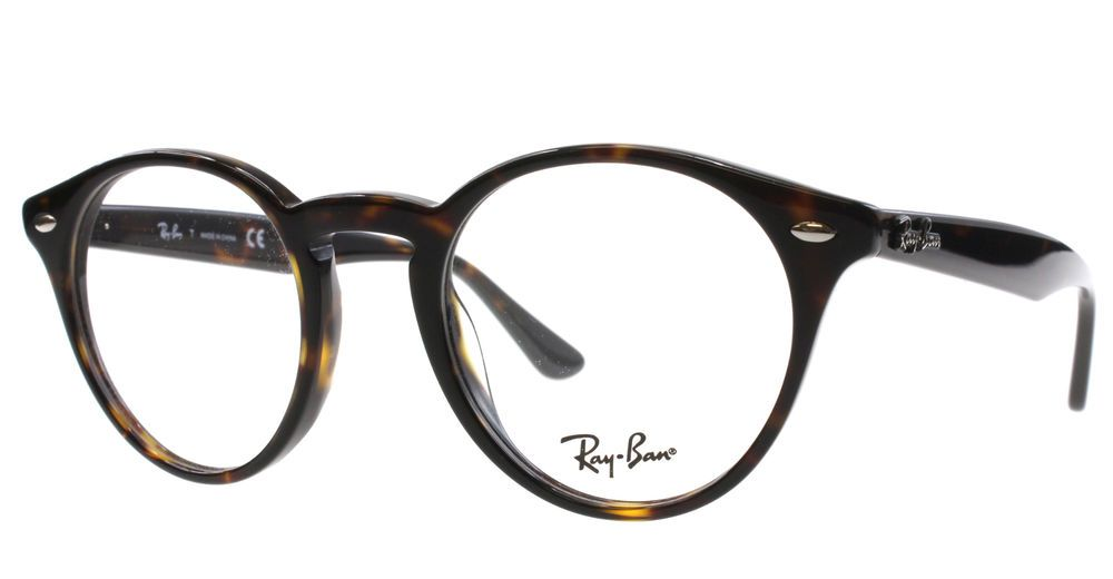 029a038d18 New Ray Ban Eyeglasses Men RB 2180V Havana 2012 RB2180V 47mm  RayBan  Round