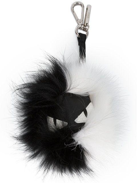 FENDI Black and White Monster Keyring.  fendi    2266d3ca9ae5a