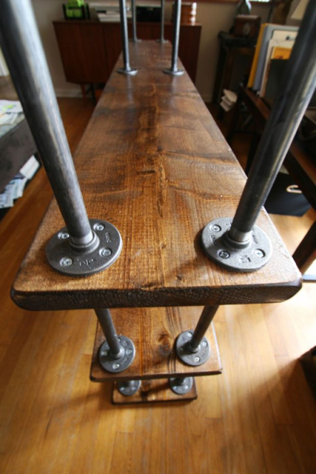 making industrial furniture. DIY Bookcase: Steps To Make An Industrial-style Piece I Can Do This. Making Industrial Furniture
