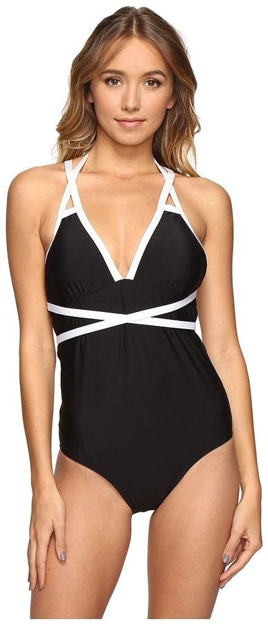 07f7474e8a098 Athena - Mirelle Removable Soft Cup One-Piece Women's Swimsuits One Piece Padded  Swimsuits,