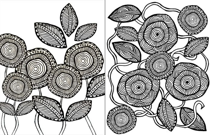 Download these free complex coloring pages! | Páginas para colorear ...
