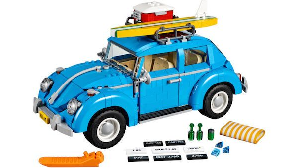 LEGO Perfects Graceful Curves Of Volkswagen Beetle In New Release - DesignTAXI.com
