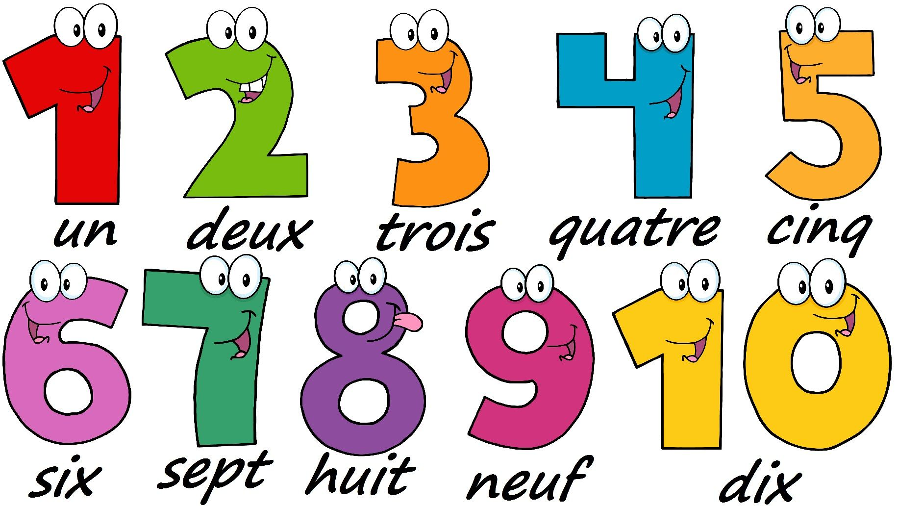 how to remember french numbers