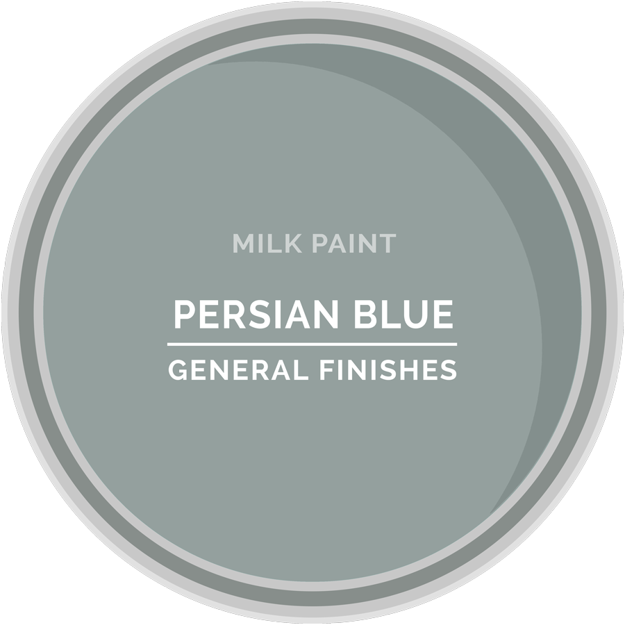 General Finishes Persian Blue Milk Paint, Pint
