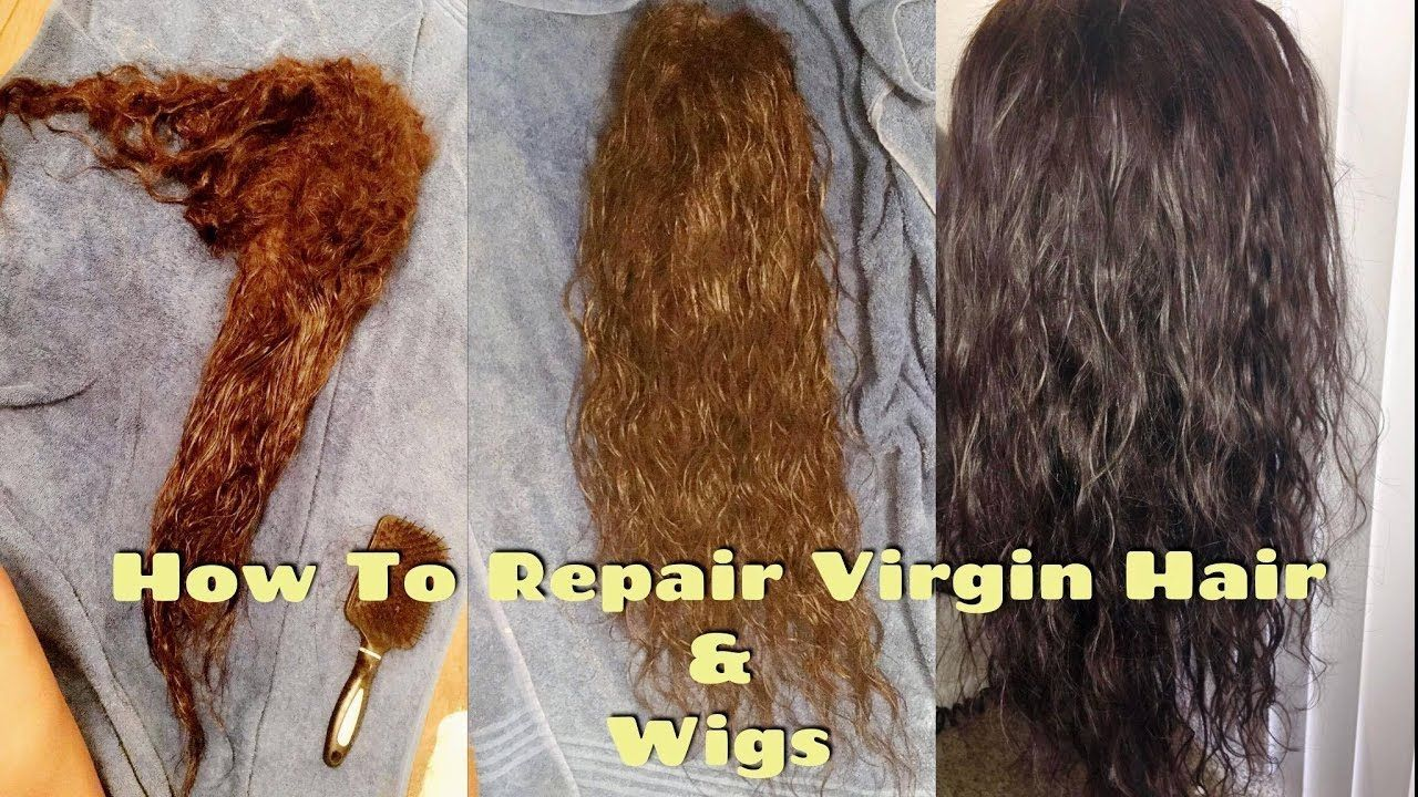 How To Repair Dry Matted Damaged Virgin Hair Extensions Wigs