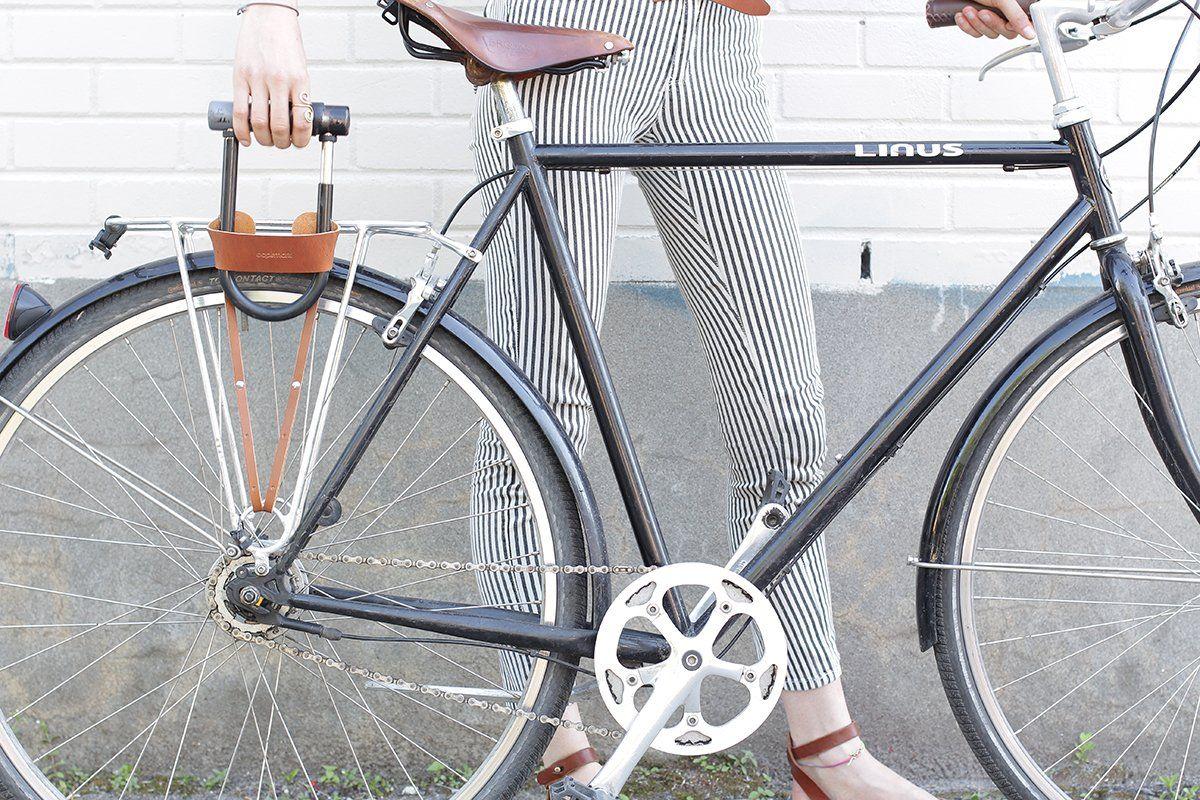 U Lock Holster Fahrrad