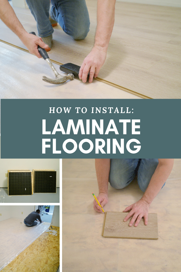 Projectcraftsdept Installing The Basement Laminate Flooring Laminate Flooring Installing Laminate Flooring Flooring