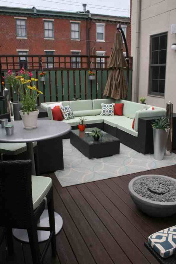 Very small patio decorating ideas on a budget small for Small balcony ideas on a budget
