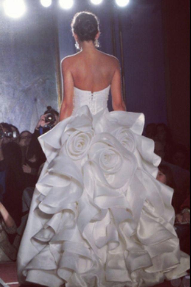 Dream wedding dress! $15,000 Pnina Tornai ball gown!   my style<3 ...