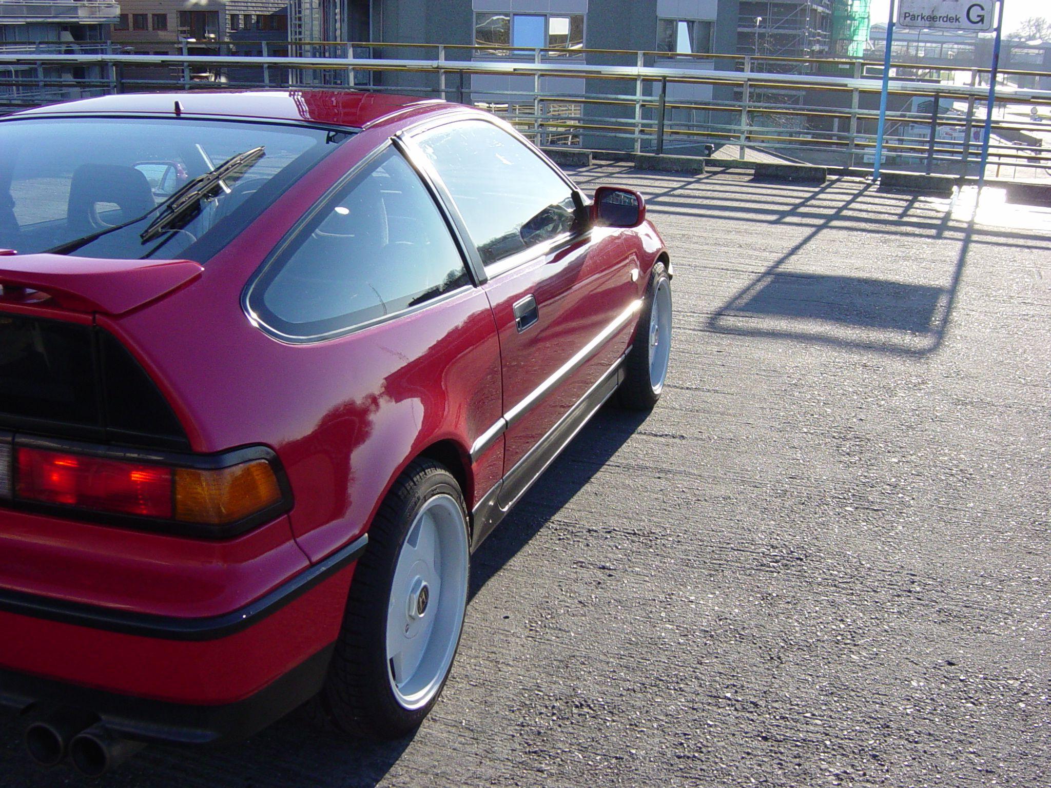 1992 Honda Civic CRX ED9   Honda crx, Honda civic, Honda