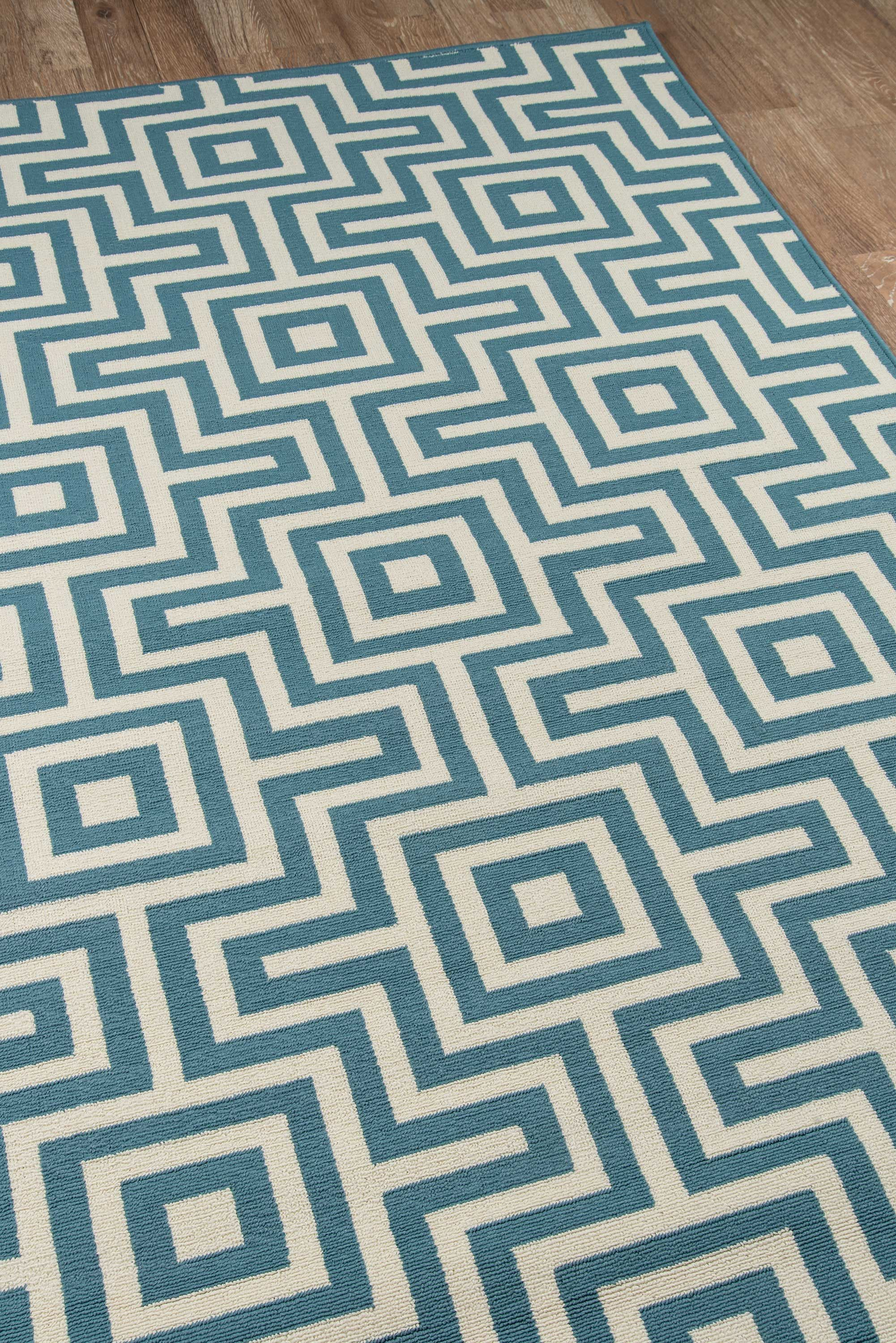Pearl White Teal Blue Geometric Modern Rug Multiple Sizes Geometric Rug Rugs Rugs On Carpet