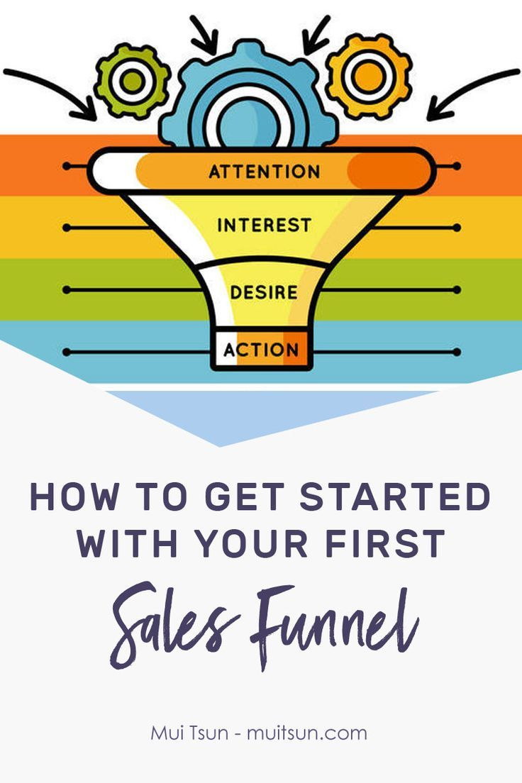 How to get started with your first sales funnel to bring in more leads and #sales! // Mui Tsun -- #salesfunnels #business #entrepreneur