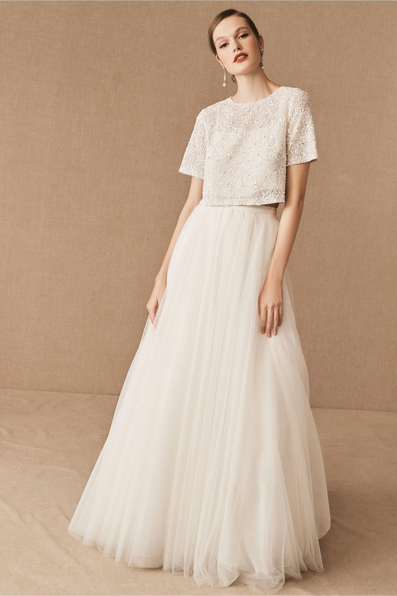 Bhldn Shayla Topper In 2020 Bhldn Bhldn Wedding Dress Bridal Separates