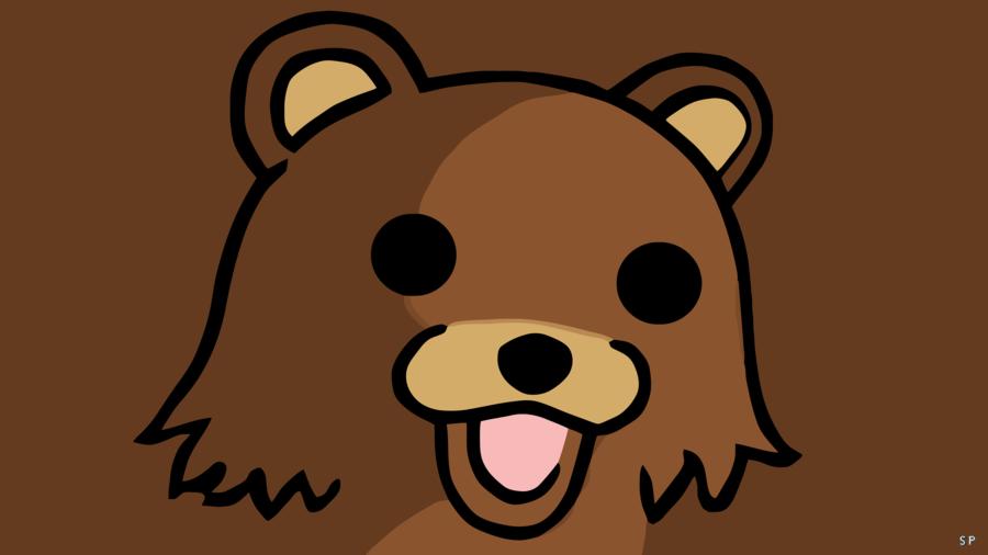 Pedobear Hd Wallpaper By Spincervino Bear Wallpaper Hd Wallpaper Cute Drawings
