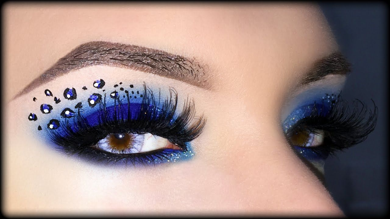 Cheetah Print Eye Shadow Makeup Topsimages