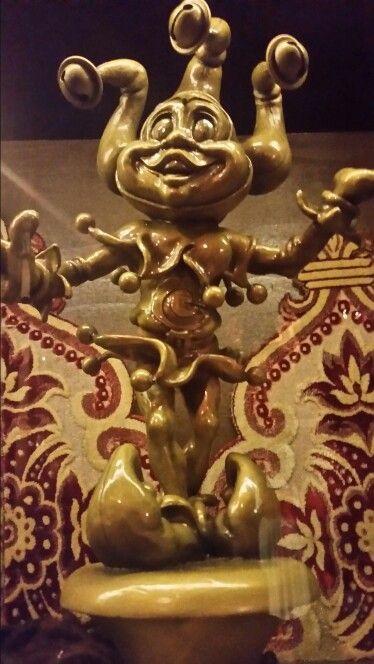 Gouden pardoes uit het museum