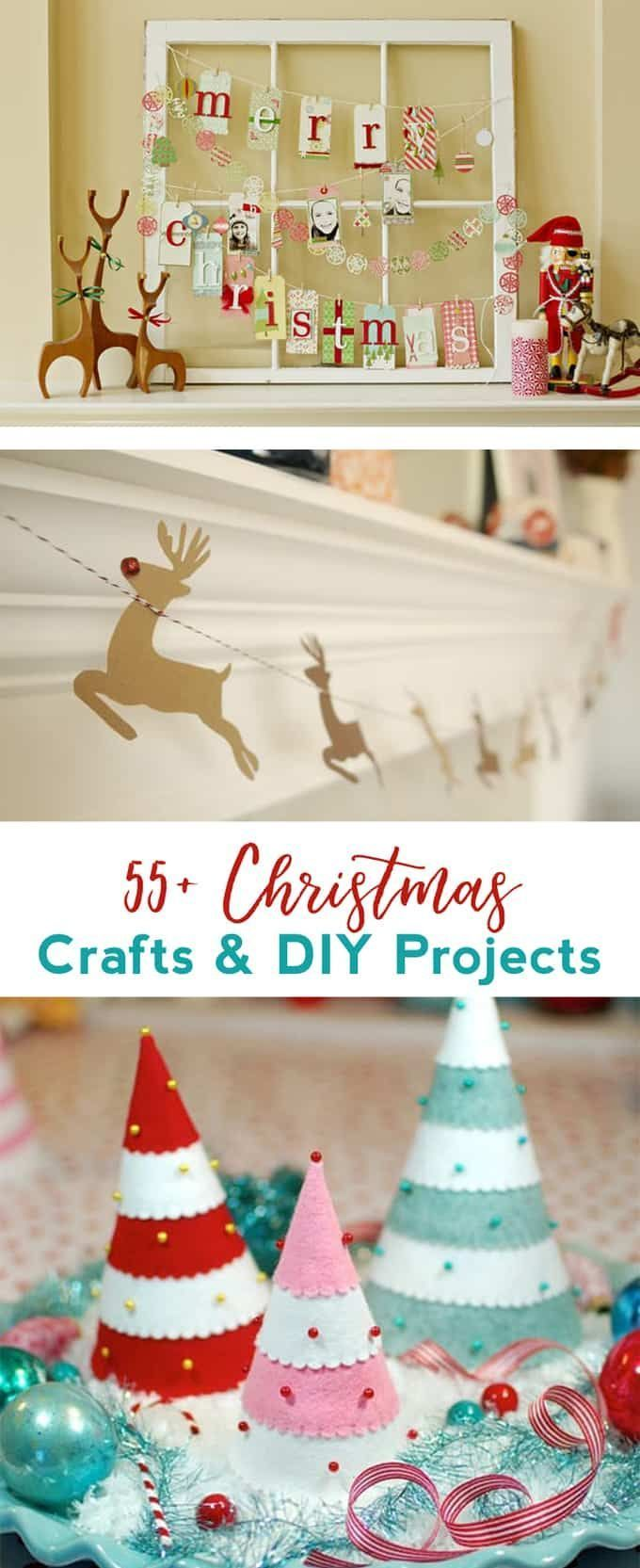 55+ Favorite Christmas Crafts & DIY Tutorials | DIY Home & Garden ...