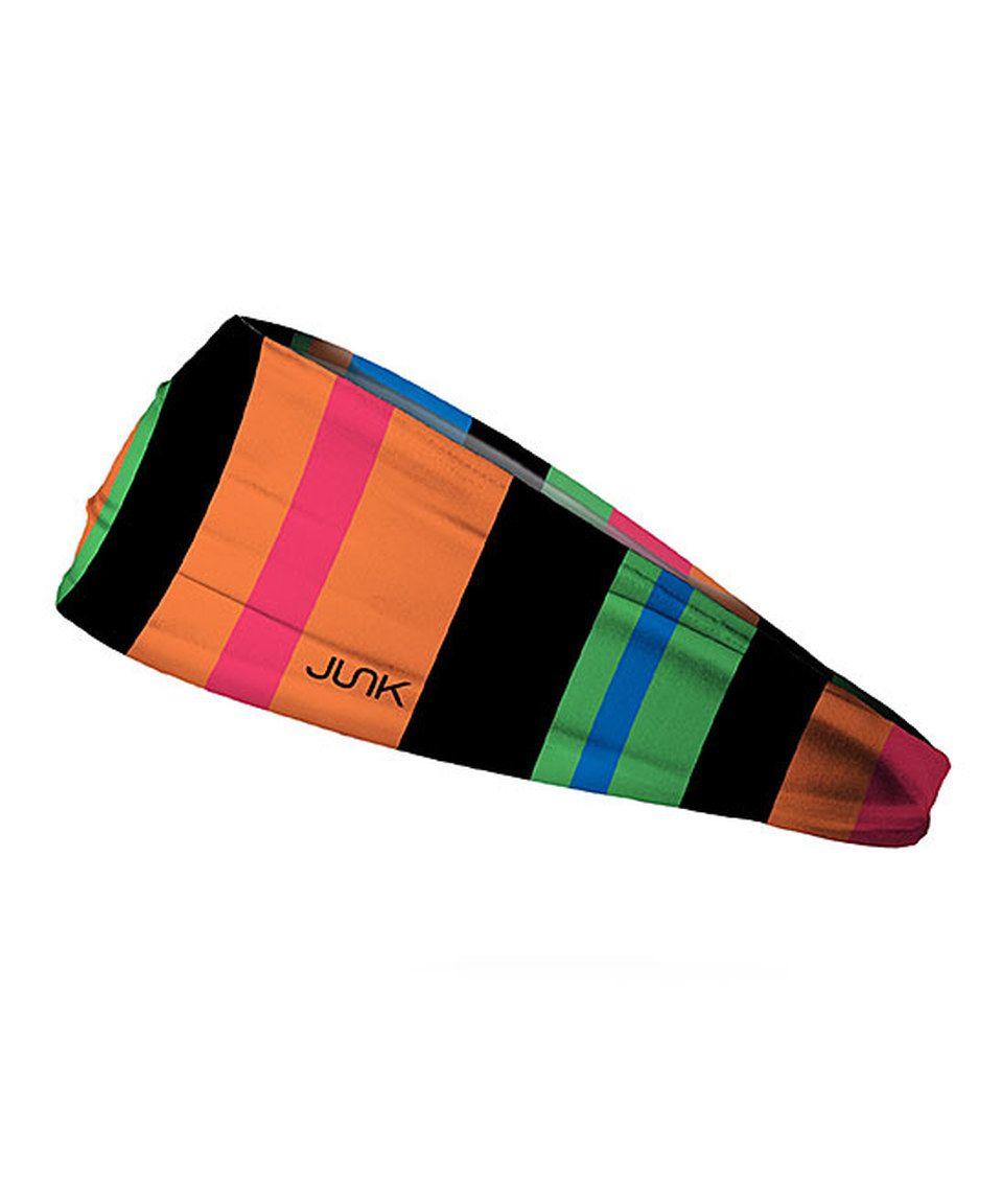 f0e358dfd4d65 Take a look at this JUNK Brands Color Block Party Big Bang Lite Headband  today!