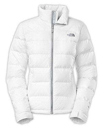 2342ea706a3 The North Face Womens Nuptse 2 Jacket XLarge High Rise Grey HeatherTNF  White