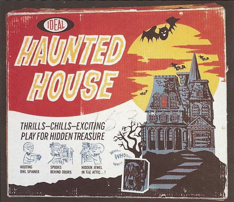 The Haunted Closet Spooky Board Games Haunted house