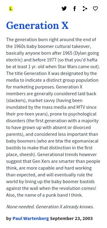 Generation X Generation Urban Dictionary Psychology Disorders