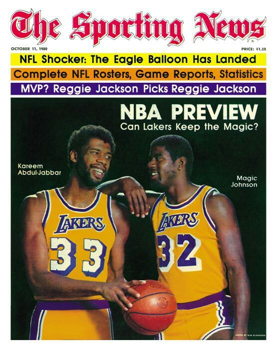 43e2ff75e Kareem Abdul Jabbar and Magic Johnson and the beginning of Showtime in L.A.