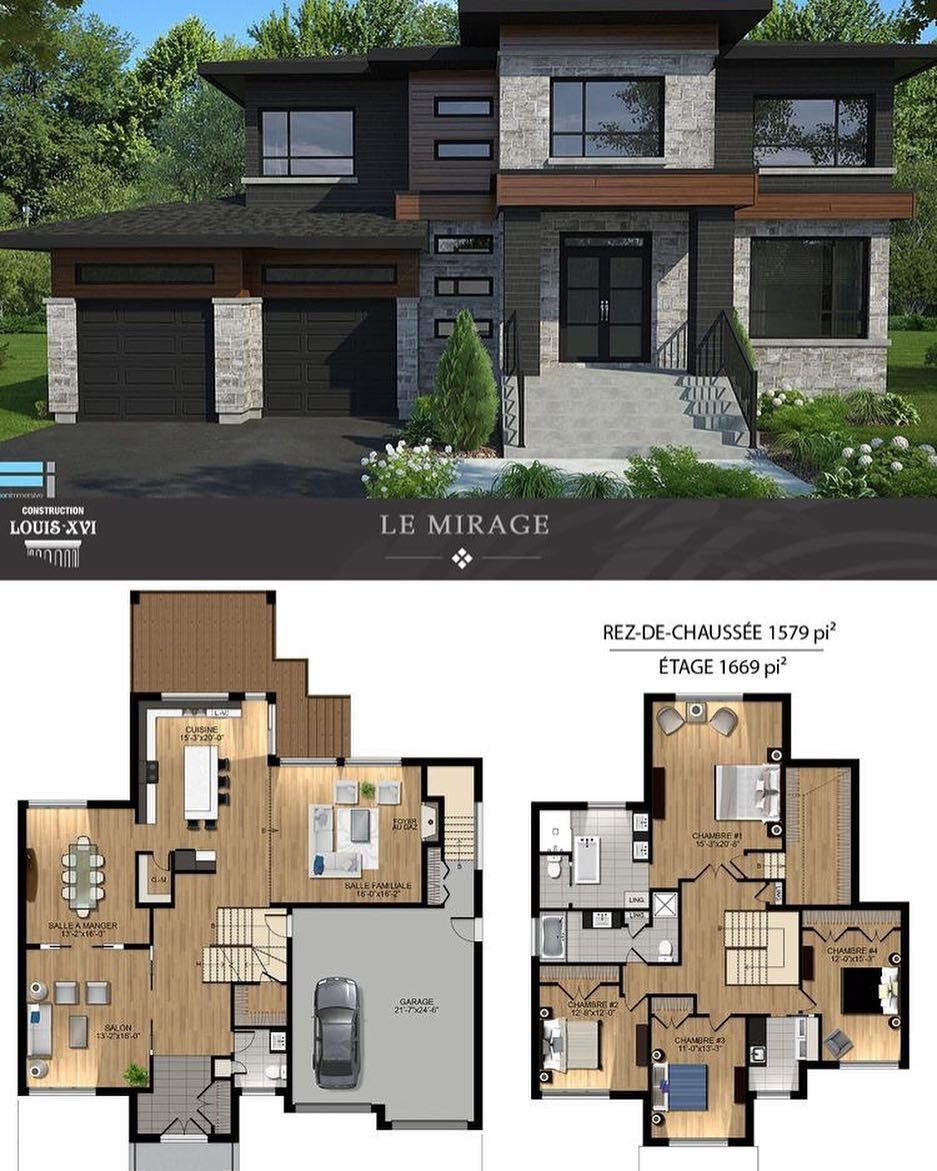 999 Best Exterior Design Ideas Exterior Homedecor Contemporary House Plans Sims House Design Modern House Floor Plans