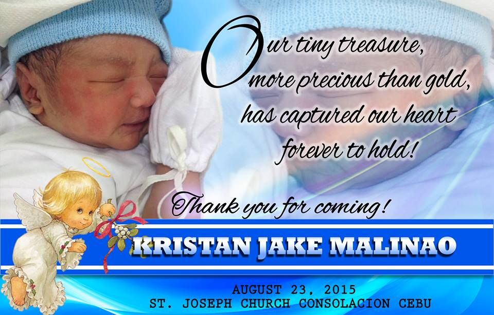 Christening Invitation Maker