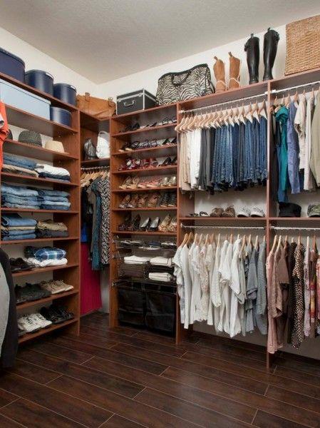 Awesome Closets Organizing Walk In Closet Walk In Closet Design