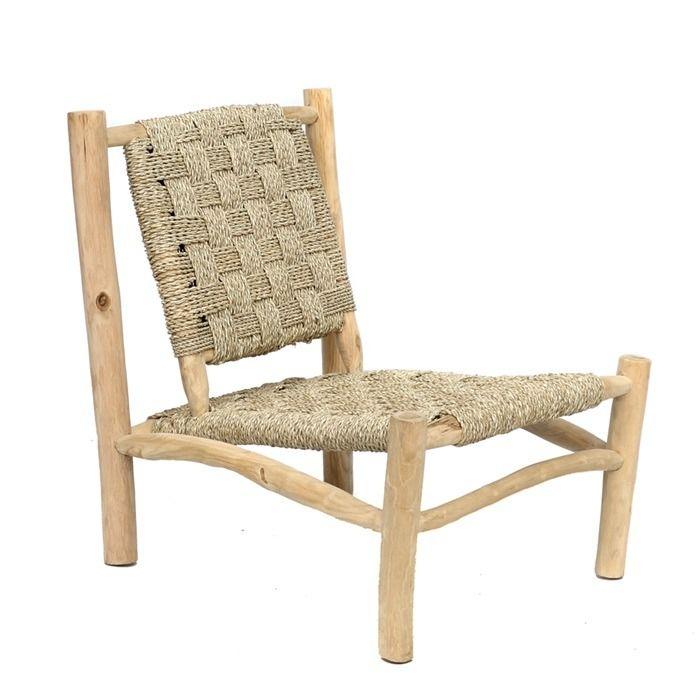 Seagrass And Teak Chair Teak Chairs Easy Chair Chair