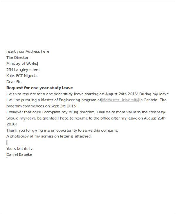 application letter templates format free amp premium sample - application for leave format