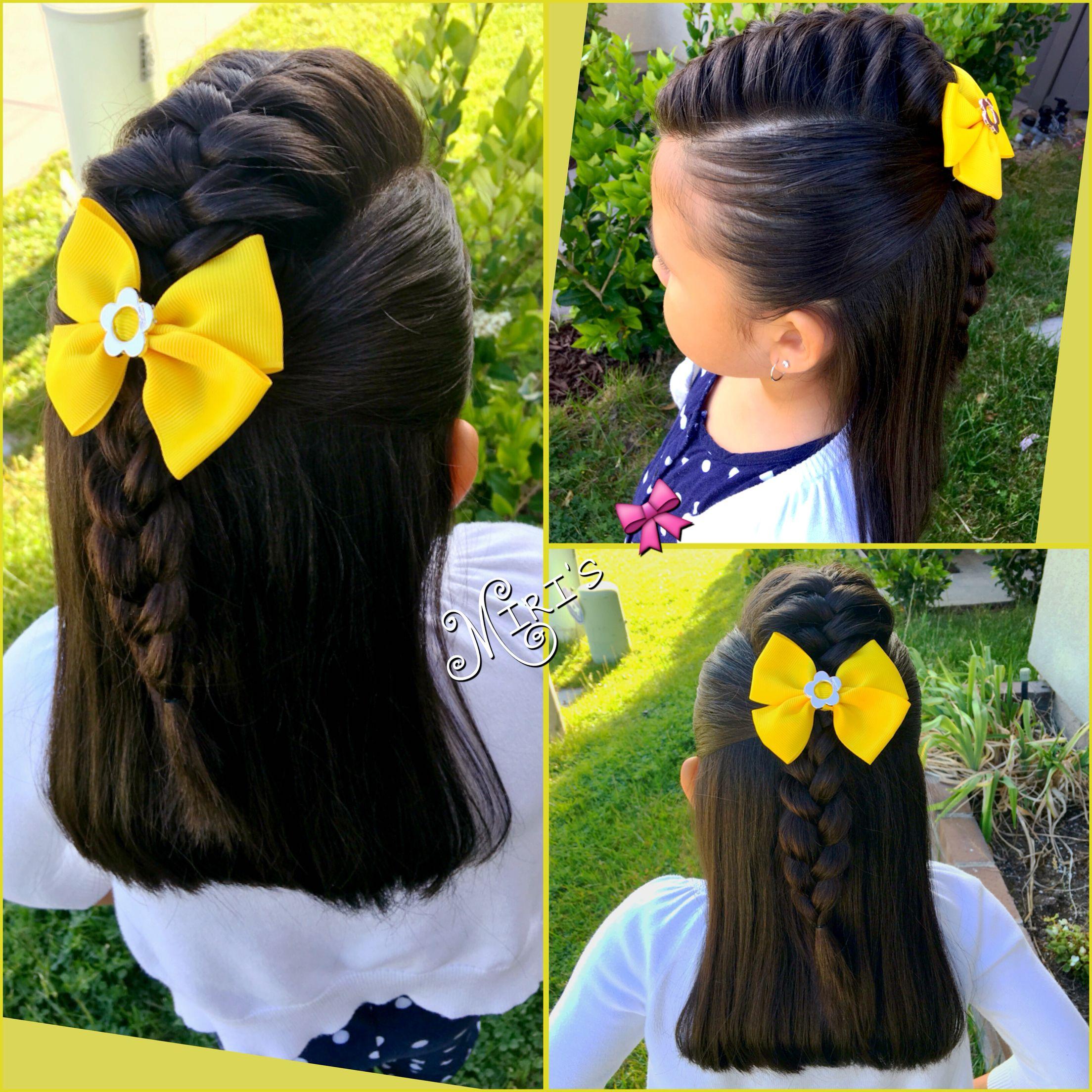 mohawk hair style little girls