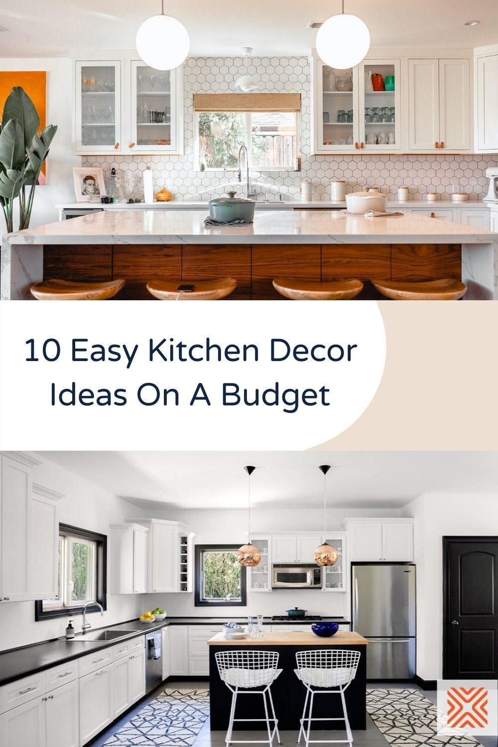 Trying to decorate a kitchen on a budget? These 10 affordable kitchen decorating ideas are proof that you don't always need to empty your bank balance for that perfect kitchen design.