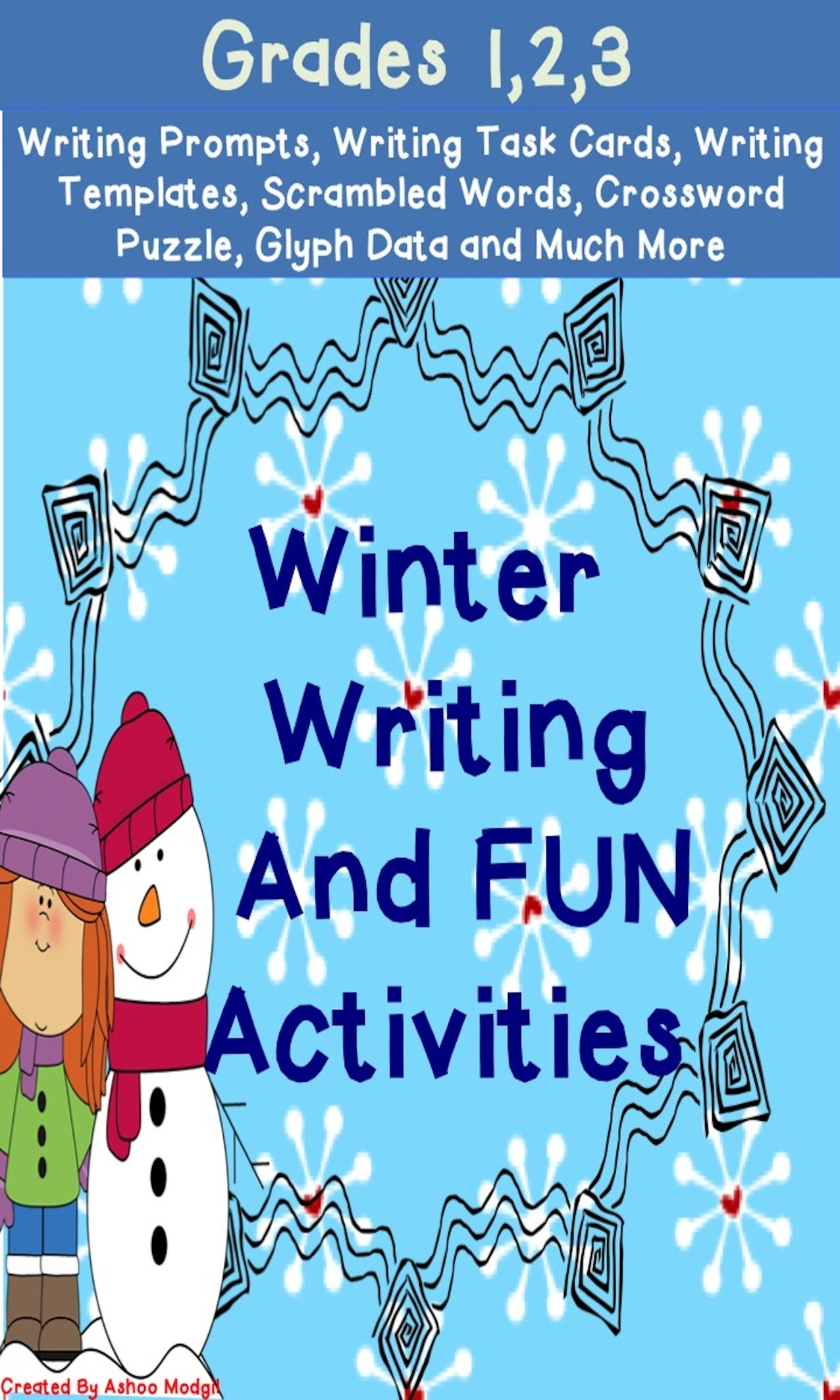Winter Writing With Images