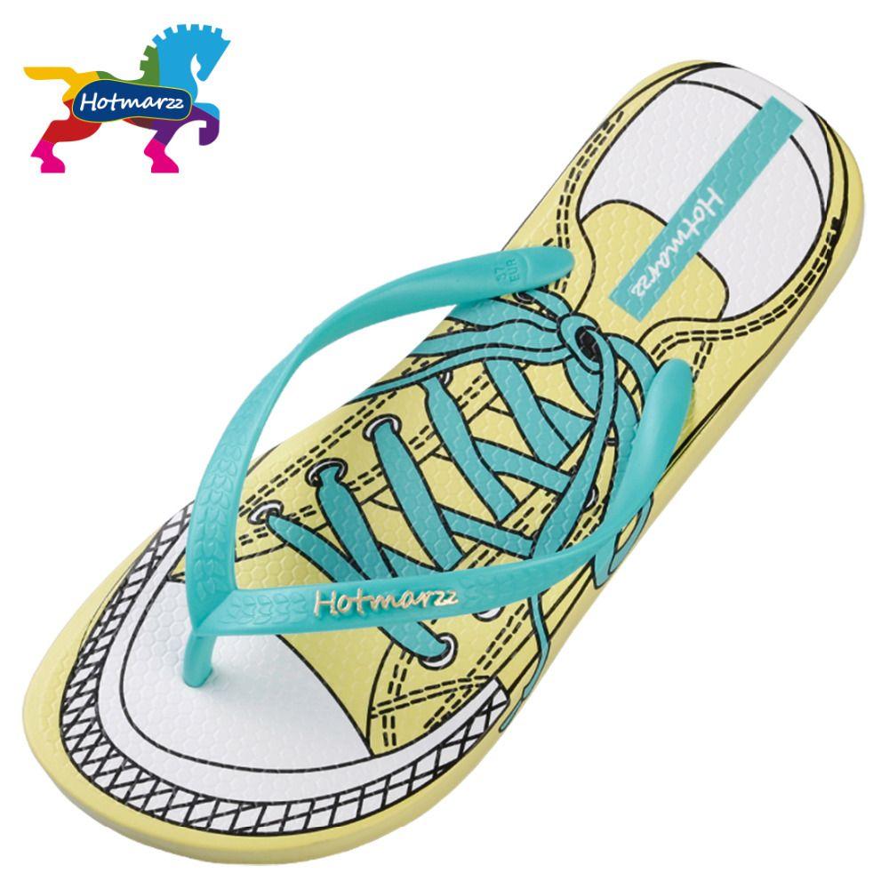 Womens Rubber Flip Flops Thong Sandal Summer Flat Beach Shoes Bath Slipper