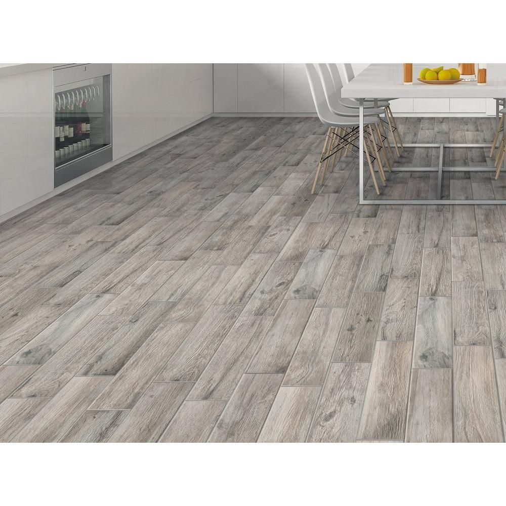 Hard Gray Wood Plank Porcelain Tile Floor Decor Grey Wood Flooring Rustic Wood Floors