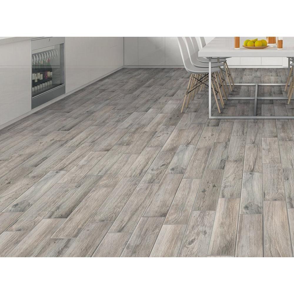 Hard Gray Wood Plank Porcelain Tile Grey Wood Wood Planks Flooring
