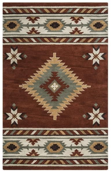 Rizzy Southwest Su1822 Area Rug Southwest Area Rugs Wool Area Rugs Tribal Area Rug