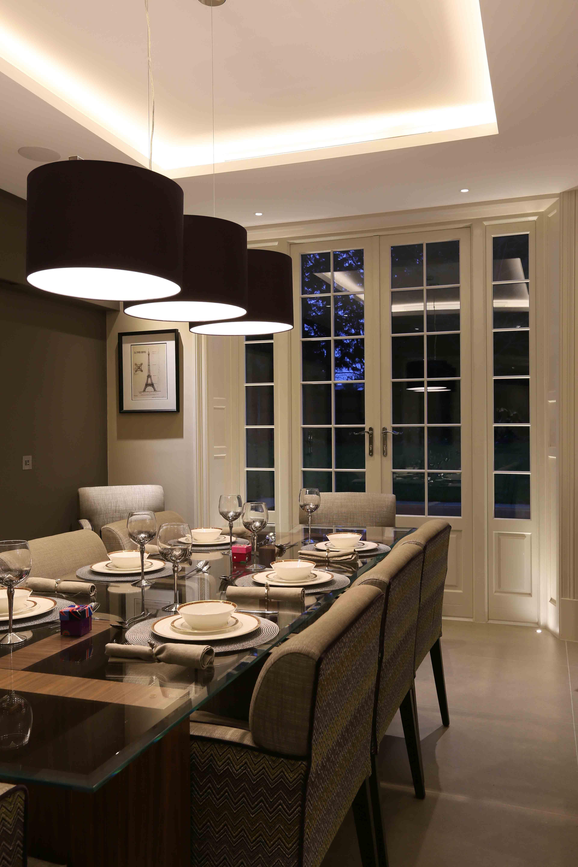 Dining Room Lighting Design By John Cullen Lighting