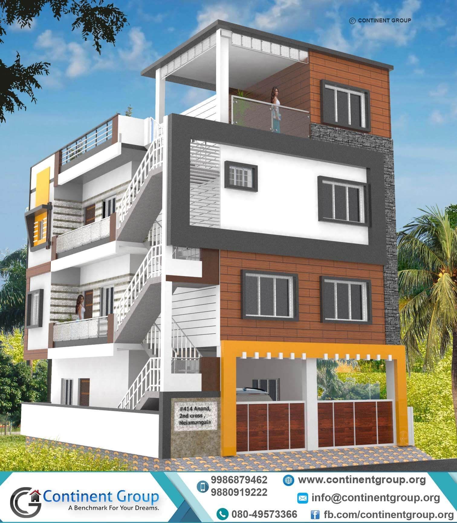 Building Elevation services Bangalore House front design