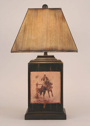 Old west table lamp ranch house decor pinterest western decor old west table lamp aloadofball Images